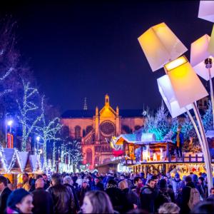 En els Mercats de Nadal es respira autèntic esperit de festa. i il·lusió. Font: Belgica-turismo.