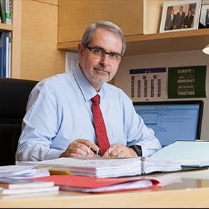 Ferran Taradellas és el director de la Representació de la Comissió Europea a Barcelona.