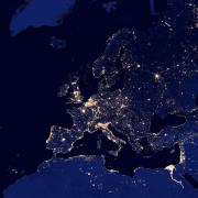 Europa espai llum energia