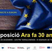 Cartell exposició 30 anys a Europa